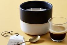 Coffee - The Candle Library / The elixir of life. Lingering notes of vanilla and maple add a surprisingly mellow touch to the invigorating scent of fresh roasted coffee beans.  The Candle Library's New Classics range is an affordable candle for everyday use.  Every candle is hand-poured in small batches in our Byron Bay HQ using 100% eco soy wax.  The ceramic pots are also designed to be reused, and feature a silicon seal on the lid.