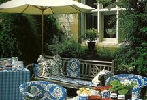 Pretty Porches and Patios / by Pam O'Connell