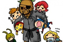 Nick Fury's Daycare / all things Avengers and extended Marvel universe / by Rayya al-Zahra'