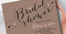 Bridal Shower / Bridal Shower Invitations and Party Decor