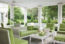 Patios, Pools and Porches / Backyards, decks, gardens, patios, pools and porches