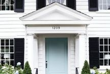 Home Exteriors / Front doors and home exteriors