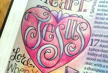 Prayer/Bible Journal Doodling
