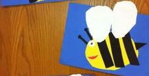 Wee ones Bee activities / A collection of clever stuff you might try with very little kids (PK-1); Lesson Plans and crafts!