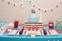 Party Ideas / Birthday Parties...Gender Reveal Parties...