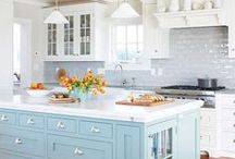 Favorite Kitchen & Dining Spaces / by Sweet Southern Media / Courtney Kirkland