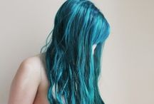 Hair / some tutorials, lots of fun colors