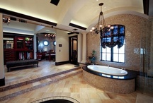 Designer Bathroom Designs & Décor / Collection of gorgeous bathroom designs and wrought iron décor to complete the look.