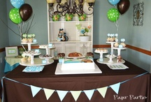 BabyShower / Ideas for when I throw another baby shower, NOT FOR MYSELF lol / by Erin DeSotel