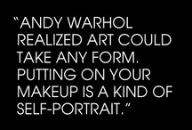 Thank You Andy Warhol / by Glitterati Incorporated