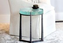 Drink Tables For Your Home / We love these little furniture wonders for their beauty and function. Wrought Iron drink tables are perfect for any room where entertaining, conversation or relaxing is the objective. Use these petite tables next to arm chairs, sofas and other seating.