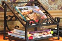 Wrought Iron Cookbook Stands