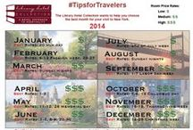 #TipsForTravelers / Ideas and information to help travelers prepare for a wonderful trip.