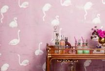 Pretty In Pink / pink / colour / interior design / inspiration / decoration