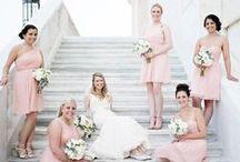 KDP . Maids + Men / Bridesmaids Dresses and Groomsman Suits and Tuxedos by Kari Dawson Photography
