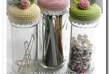 CROCHET - Cover Jar & Bottle's / Crochet