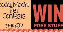 Social Media Contests / Free Pet Contests to WIN Products on Social Media!