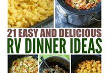 RV Kitchen and Recipes / Get recipes and ideas for cooking inside or outside your RV.