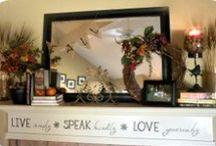 Home Decorating / Home Decorating, seasonal decorating