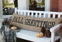 Fall / Fall décor, fall decorating, fall activities