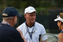 Info for tennis-teaching pros / by USPTA
