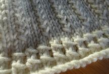 Bordures tricot-crochet