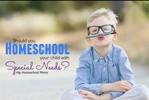 Special Needs / by Hip Homeschool Moms