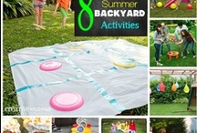 Summer Fun For Kids / Educational and just plain fun activities to beat the summer boredom!  Email me at lauraschachter@gmail.com, if you would like to join the board :)