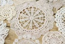lovely lace / Things made of, or inspired by lace and doilies