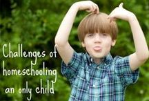 Only Child / by Hip Homeschool Moms