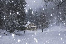 Winter / Winter scenes, snow, frost, nature, inspiration