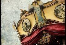 wagons, circuses, theatres & fairs