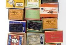 Packaging  / Packaging vintage and contemporary