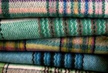 Textiles / woven, sewn, printed, vintage, new, cushions, quilts