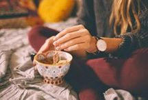 Tea Time / Sereni • tea : (n.) the absence of stress while drinking tea. / by ℳ α ℓ ι η α ☾