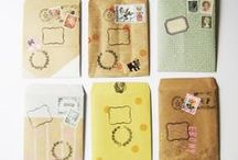 In the mail / snail mail inspiration, envelopes, stationery, packages