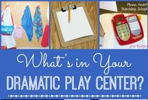 Creative Dramatic Play Ideas / Great ideas for expanding your dramatic play repertoire.  Use recyclables to create a rich dramatic play area.  Lots of DIY and easy ideas!