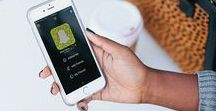 Marketing with Snapchat. / Grow your business using Snapchat for marketing.