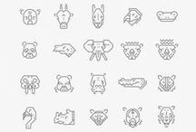 Icons and Pictograms / Inspiration for icons, pictograms and other types of signages
