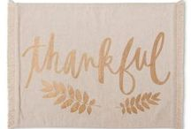 ABD: Last Minute Patterned Decor for Thanksgiving List! / Last minute items to spruce up your home before Thanksgiving dinner!