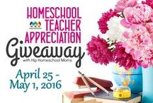 4th Annual Giveaway / by Hip Homeschool Moms