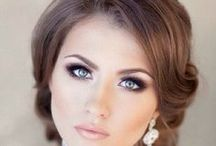 Hair & Beauty / wedding hair and make-up inspiration