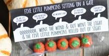 *Creative October* / Creative ideas for exploring themes related to the month of October. Great ideas and resources that are sure to engage your kids! Pumpkins, Halloween, fire safety, spiders, bats, and so much more!