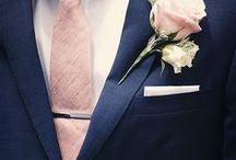 Groom & Groomsmen / Grooms Suit, Groomsmen Suits, Tie, Mens Shoes, Buttonhole, Grooms Flowers