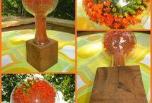 Decor - Dried Flower Art