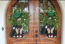 Spring-Summer Wreaths / A Collection of my Spring and Summer Wreaths