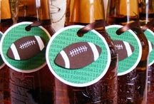 Game Day Party Prep / Party planning for Sunday Fundays.