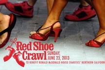 Red Shoe Crawl / Grab your friends and family and join us for our Annual Red Shoe Crawl. You'll get to sample culinary delights from the best restaurants in the region while leisurely strolling from restaurant to restaurant in the downtown and midtown areas of Sacramento. Guests are encouraged to wear red shoes in honor of Ronald McDonald's trademark footwear!  / by Ronald McDonald House Charities Northern California