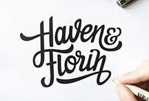 Typography / by Sammy Nicholls