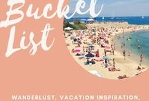 Bucket List / The ultimate list of bucket list and travel destinations!